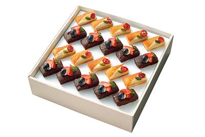 19. フィナンシェのホワイトチョココーティング&ガトーショコラ