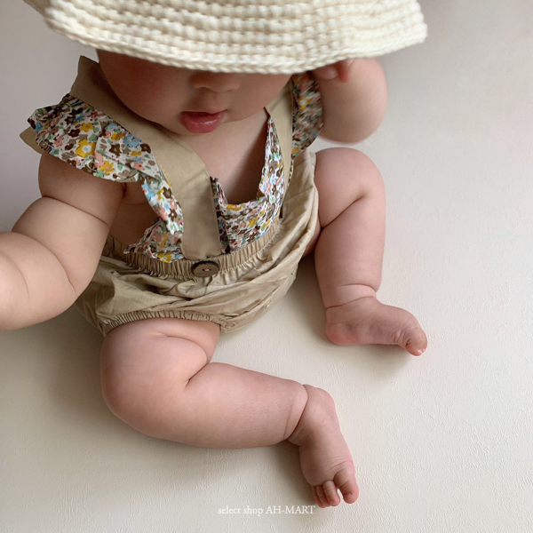Baby Flower Rompers 6/12/18month