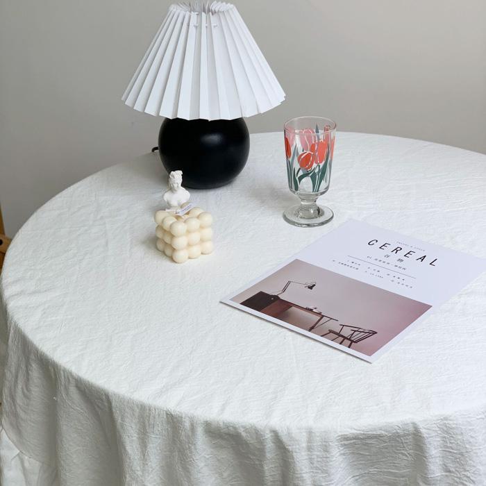 [4/19再入荷] Frill Table Cross 140*140cm