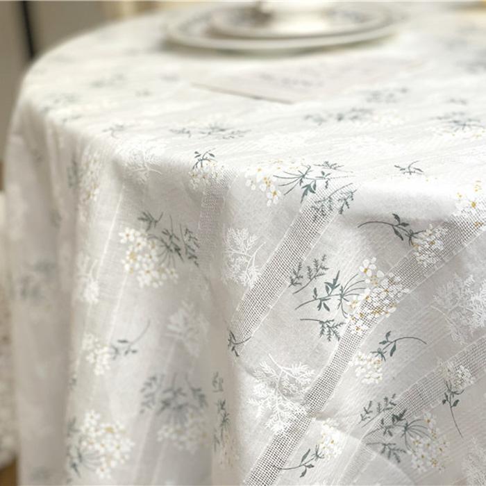 [4/19再入荷] Flower Table Cross 140*140cm