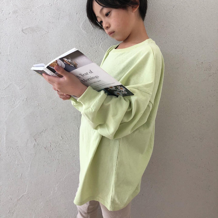 OUR ジュニア 刺繍トップス 全5色 L-JXL