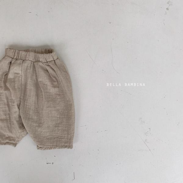Kids Bella Bambina Pants 2020FW 全4色 XS(85)-XL(125)