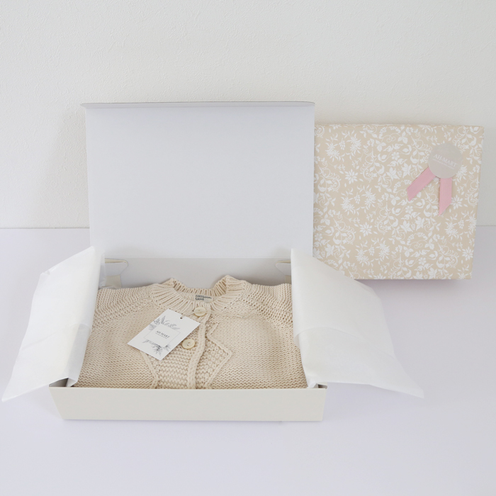 有料ラッピング ギフトボックス+包装紙+リボン&シール
