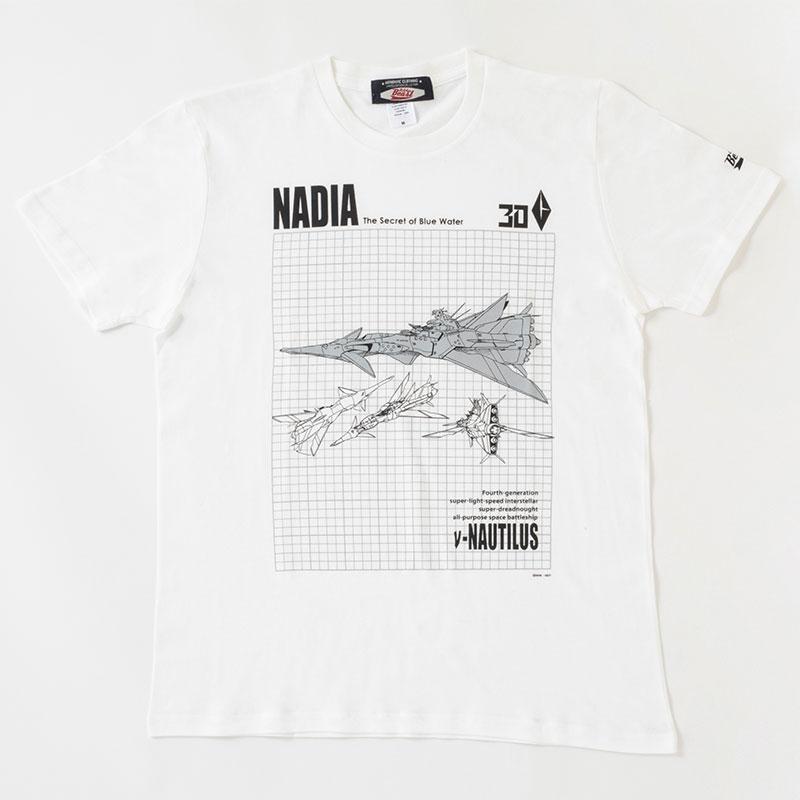 「ふしぎの海のナディア」N-ノーチラス号Tシャツ