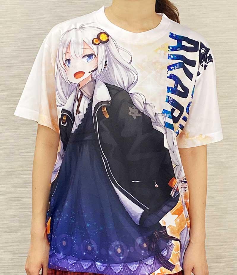 紲星あかり フルグラフィックTシャツ