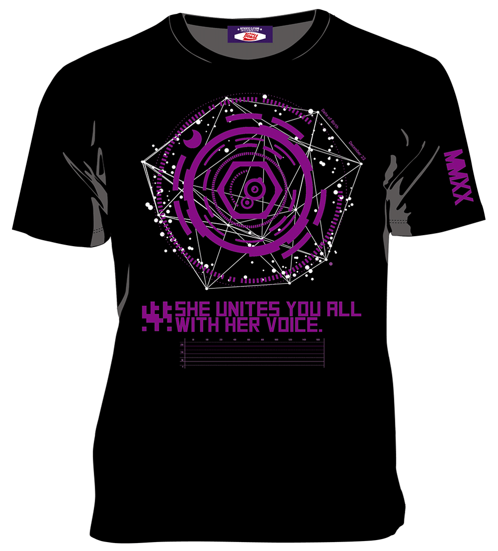 結月ゆかりTシャツ2020