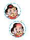 [パネルセット]カラープリントパネルシアター 吉四六(きっちょむ)さんおもしろばなし だんごコブ