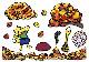 [パネルセット]カラープリントパネルシアター 落ち葉でどろん!