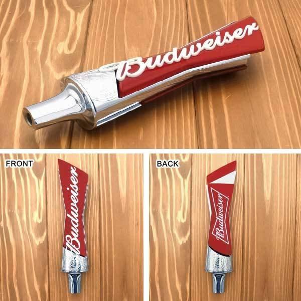 新品 ビアサーバーノブ Budweiser 全長:約32.5cm シフトノブ バドワイザー ビールサーバーノブ ビアタップ オートパーツ カスタム アメリカ ビール 車 内装 アクセサリー