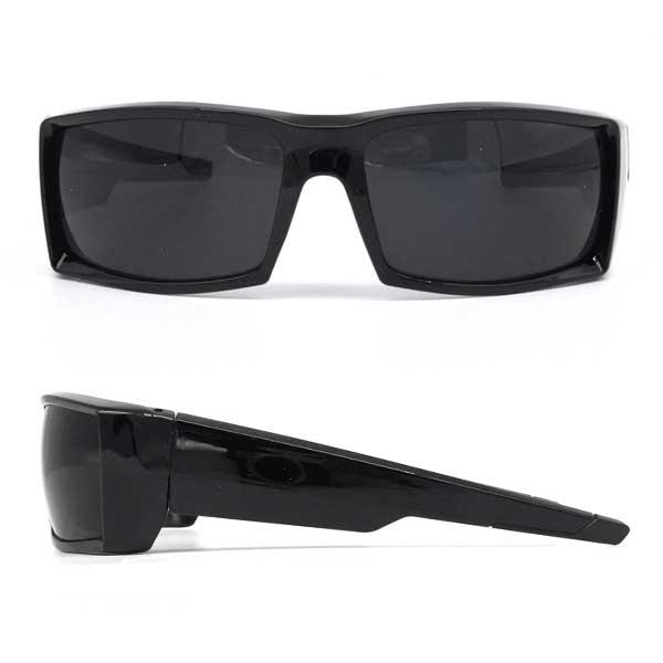 ローク サングラス メンズ プレーン 005 ブラック スクエア ロークサングラス ローライダー ハーレー チカーノ チカーノファッション チョロスタイル 黒