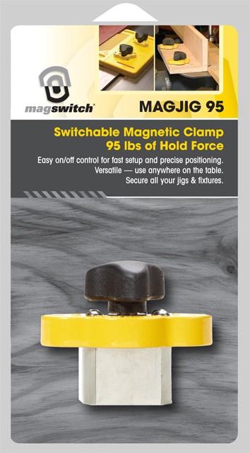 マグスイッチ ノブ式マグネットホルダ (43kg)