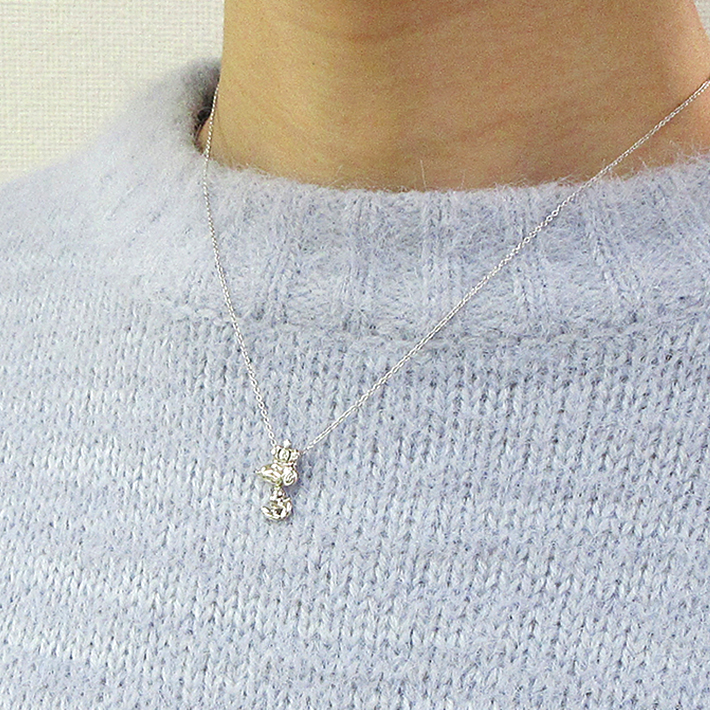 スヌーピー プラチナ ネックレス