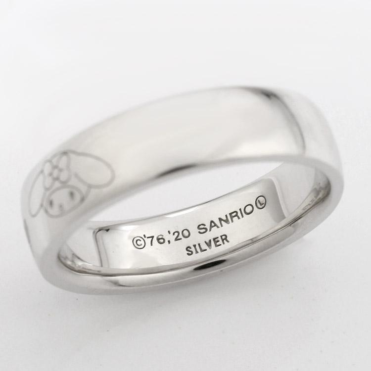 マイメロディ ロゴリング  mymelody Logo Ring
