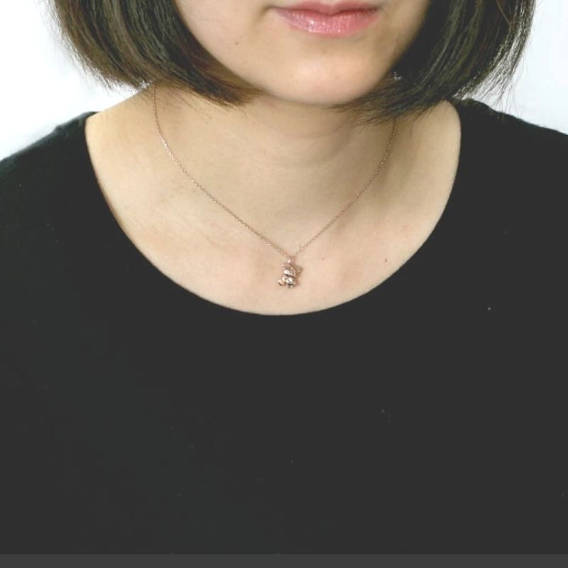 リラックマ チャイロイコグマ  はちみつ ネックレス