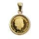 純金 パディントン べア™コイン 1/30オンス K18 枠つきペンダントトップ