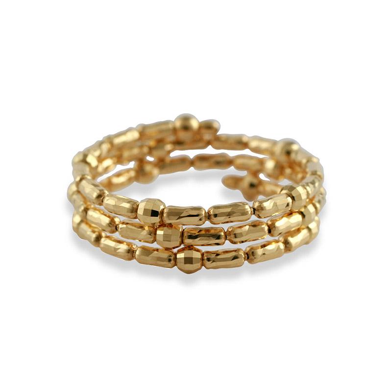 K18YG  形状記憶 スパイラルリング 〜Comfort Jewelry〜