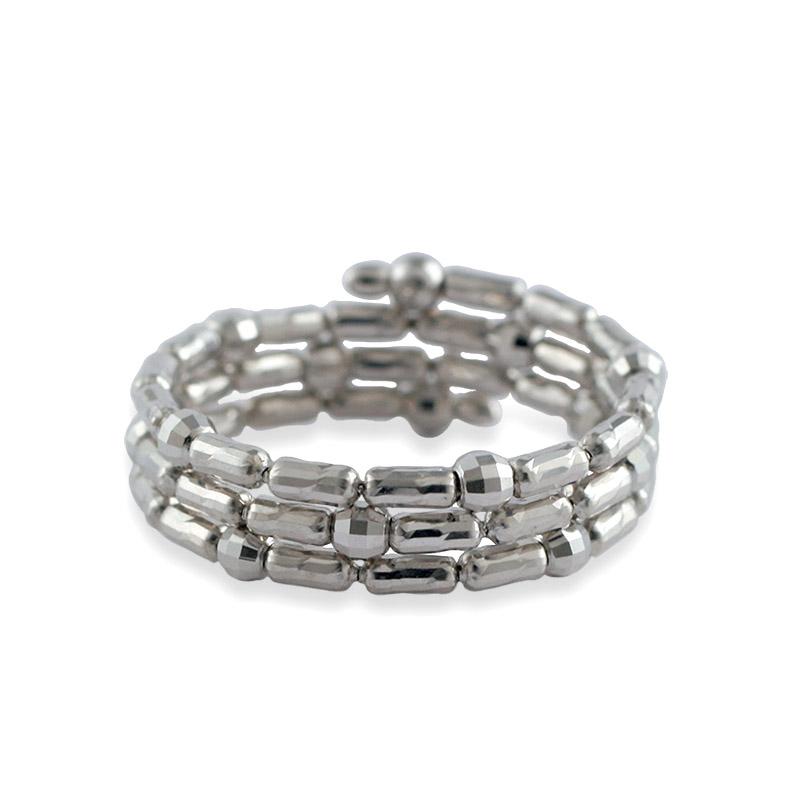 K18 WG  形状記憶 スパイラルリング 〜Comfort Jewelry〜