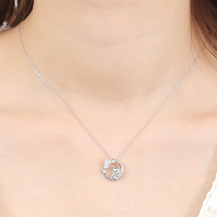 コリラックマ ムーン セレナーデ ネックレス Rilakkuma moon necklace