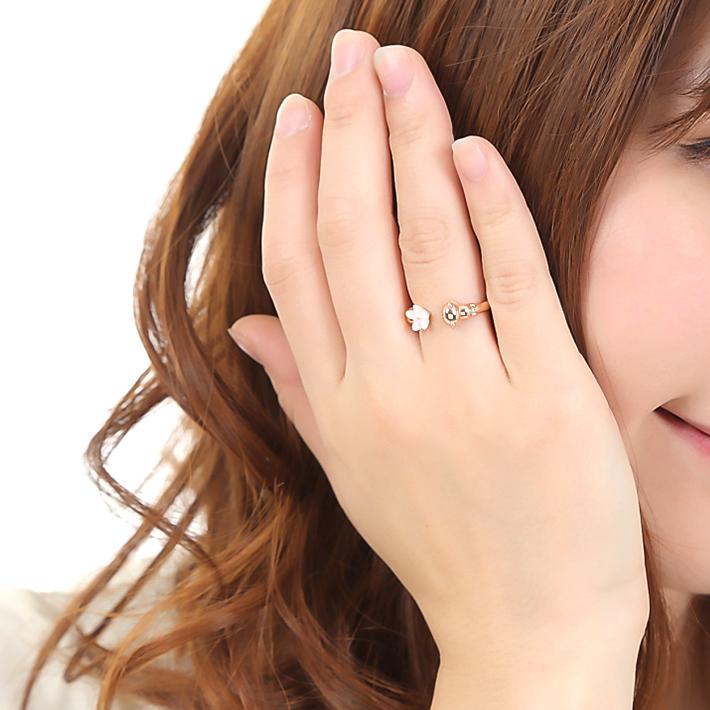 コリラックマ リング  Sweet flower リング 指輪