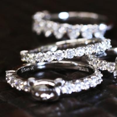 シルバー リング バケット キュービックジルコニア 指輪