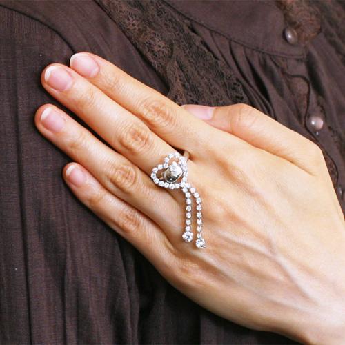 キティちゃん ハートリング 指輪 在庫限り