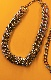 2type Silver Chain Necklace 2P SET