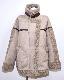 Oversized Mouton Boa B-3 Jacket (Ash Greyge)