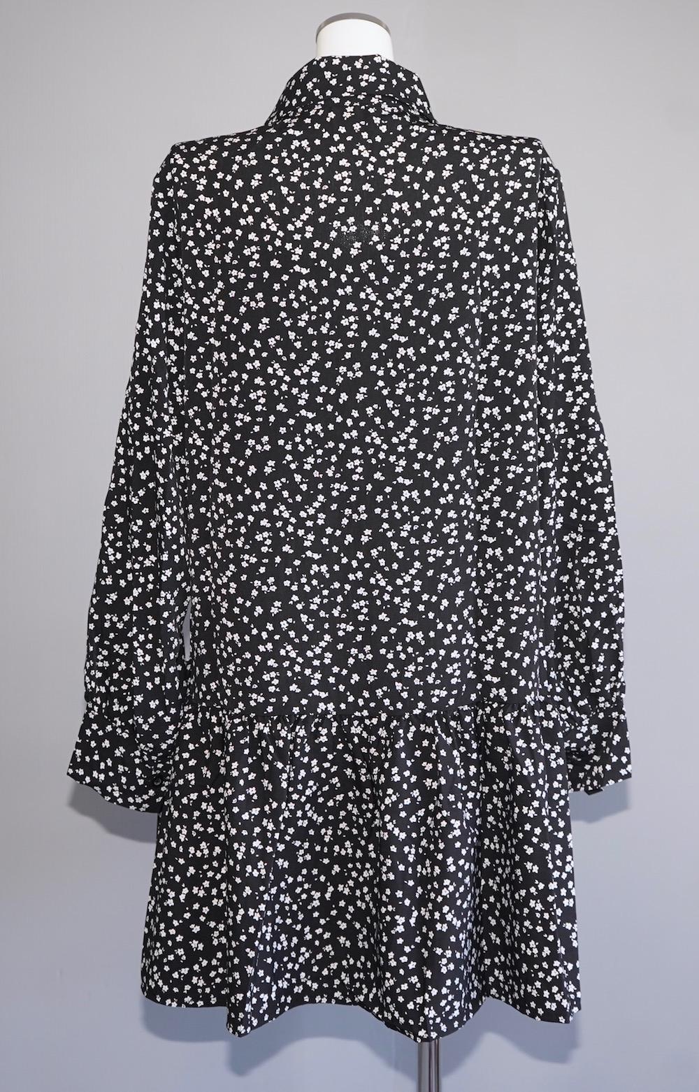(Flower Onepiece + Vest + Mini Bag) 3P SET - Black
