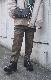 Gun Club Check Easy Tapered Pants (brown)
