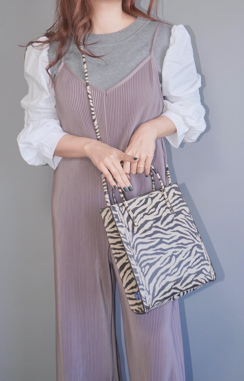2way Square Shoulder Bag (zebra)