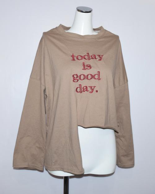 """GOOD DAY"" Asymmetry TEE(BGE)"