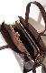 Crocodile Touch Square Shoulder Bag (brown)