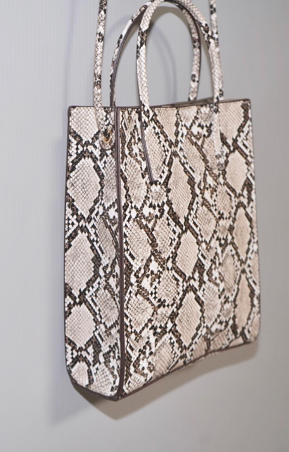2way Square Shoulder Bag (python)