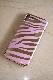 Zebra Metallic iPhone Case