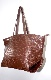 Croco-Touch Big Tote Bag (brown)