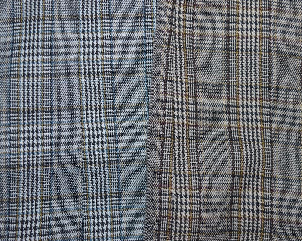 (全2色)グレンチェック テーラードジャケット