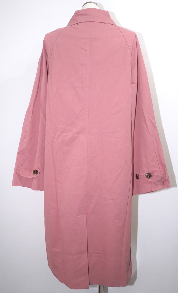 Soutien Collar Long Coat (dusty pink)