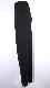 Shiny Pleats Wide Pants (black)