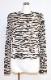 Zebra Pattern L/S Tops (light beige)