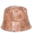 Leather Touch Bucket Hat (light brown)