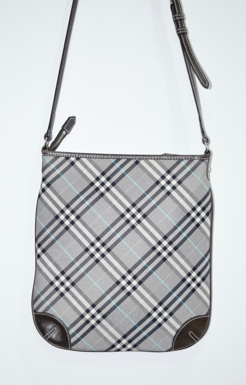 """BURBERRY LONDON"" CHECK SHOULDER BAG"