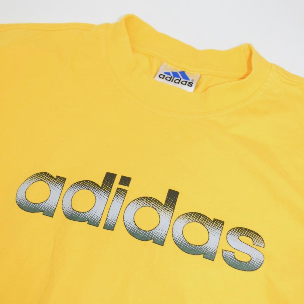 """""""adidas"""" BIG LOGO TEE(yellow)"""