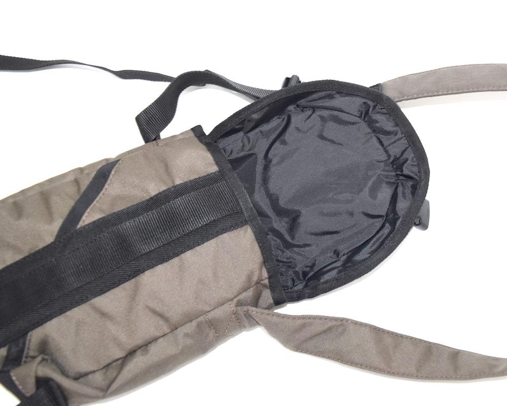 """DIESEL"" NYLON SHOULDER BAG(khaki/black)"