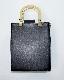 (全2色)GOLD HANDLE SQUARE BAG