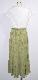 Majorica Pleats Switching Onepiece (green tea)