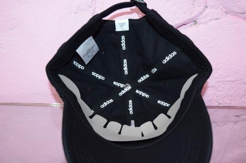 """(全4色)""""adidas"""" 刺繍ロゴWashed Cap"""