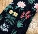 MULTI FLOWER'S CREW SOCKS(black)