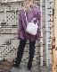 Oversized CPO Jacket (light purple)