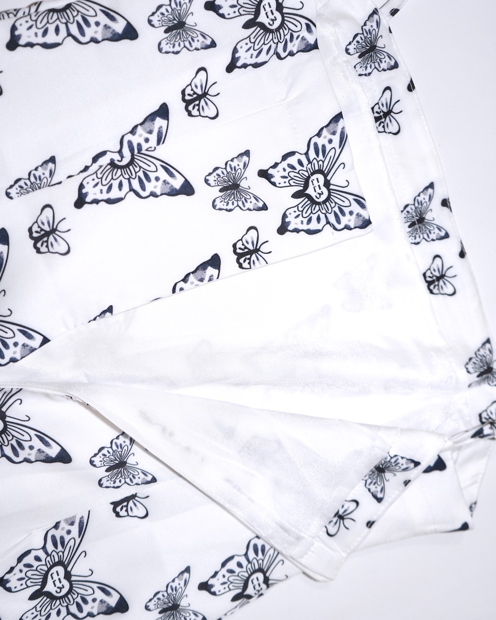 【OUTLET】Butterfly Hearts Cami-Onepiece (white)