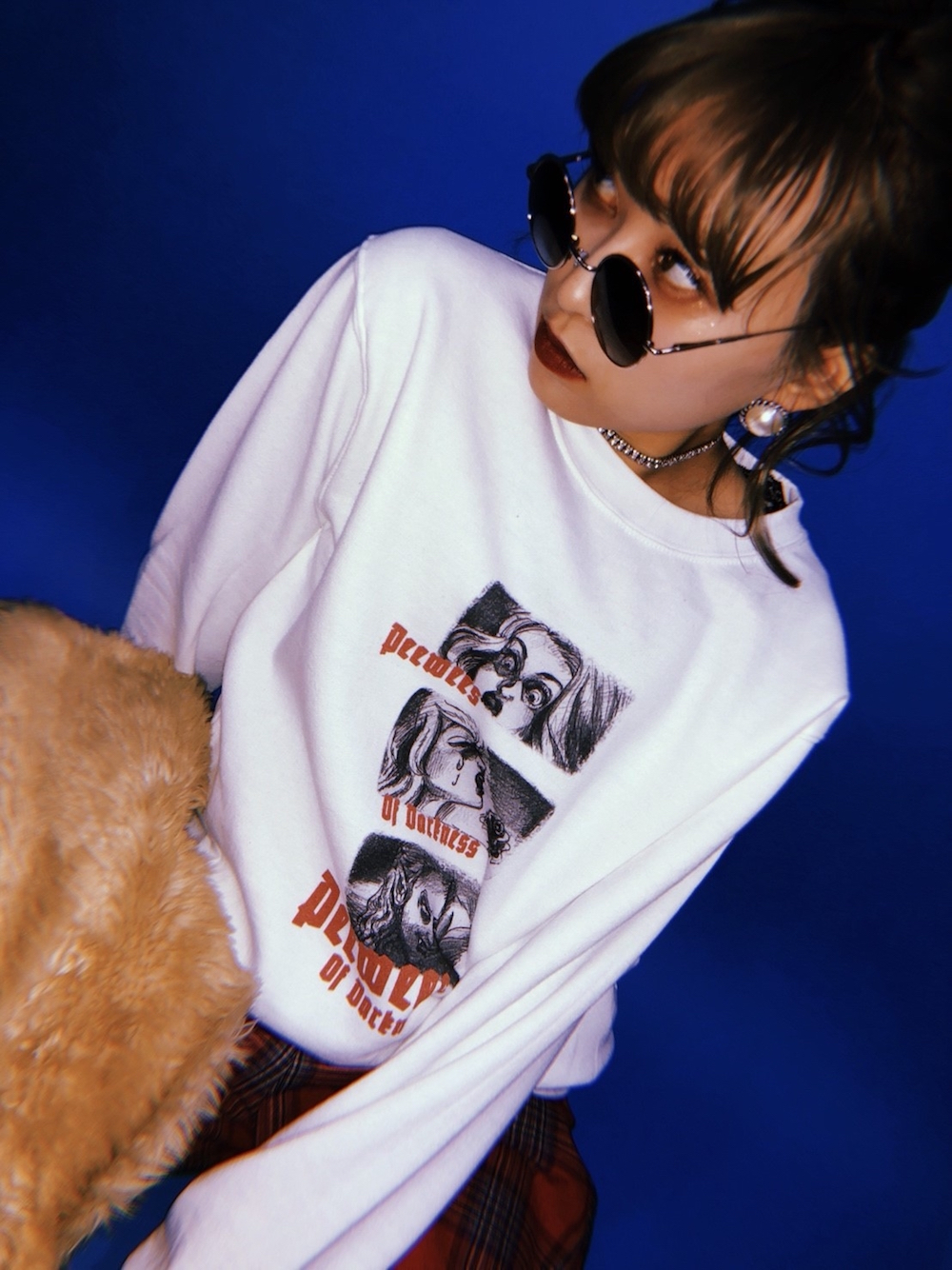 【peewees】Girls in the Darkness Sweat PO